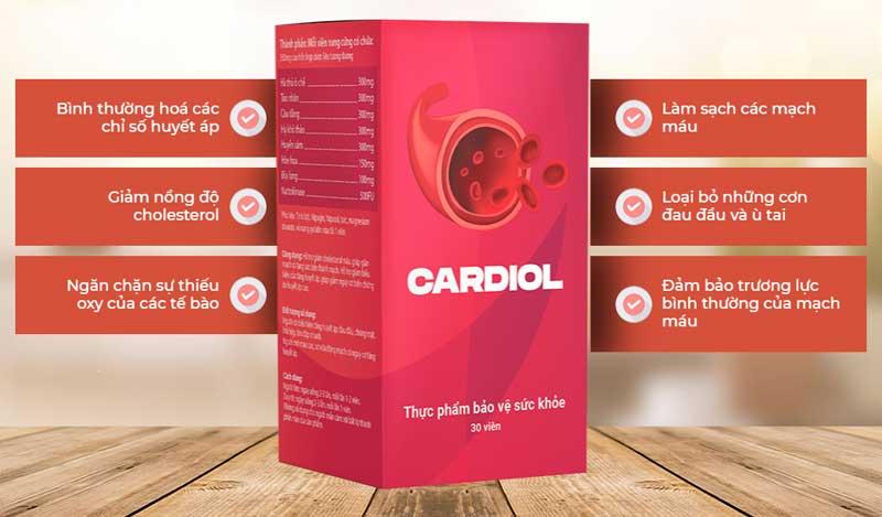 cardiol giải pháp cho bệnh nhân tim mạch