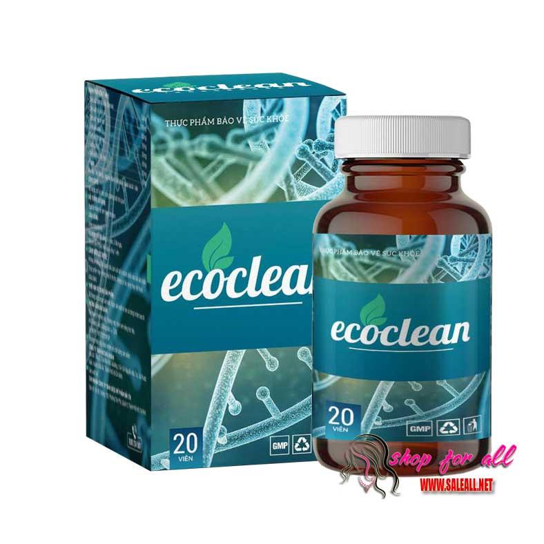 ecoclean diệt ký sinh trùng