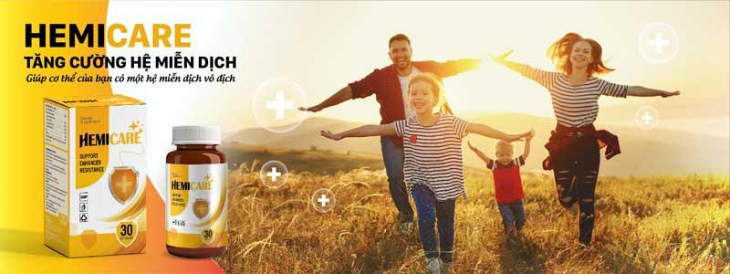 HemiCare tăng cường hệ miễn dịch
