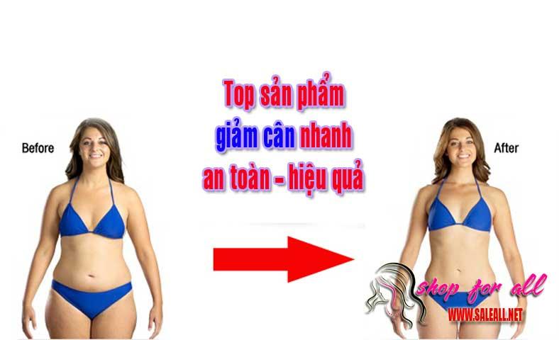top sản phẩm giảm cân
